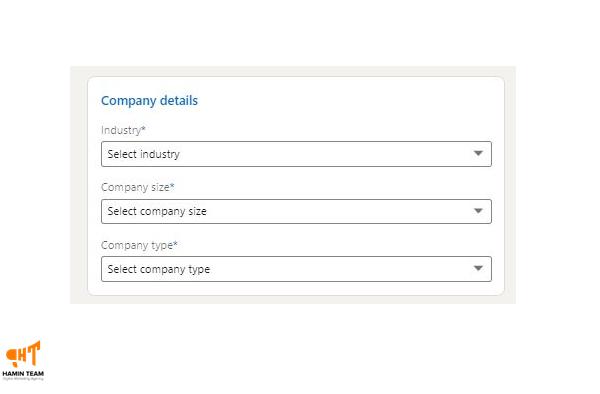 صفحه شرکتی در لینکدین